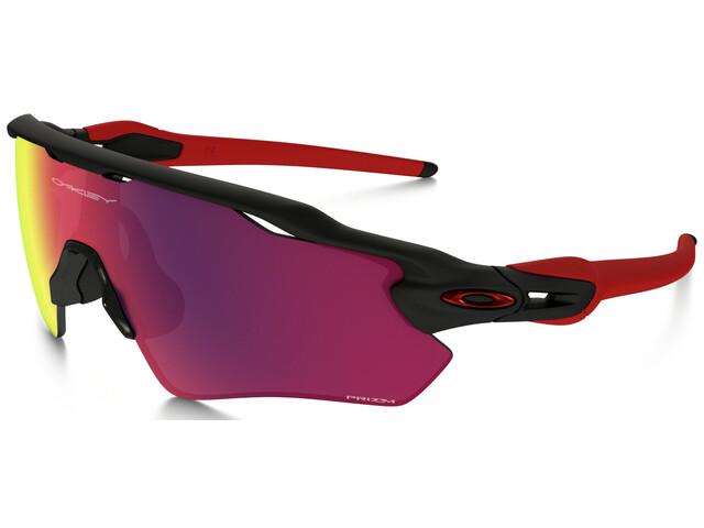 Oakley Radar EV XS Path - Lunettes cyclisme - rouge/noir